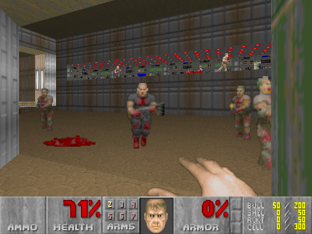 Screenshot of Doom 1 by ID Software