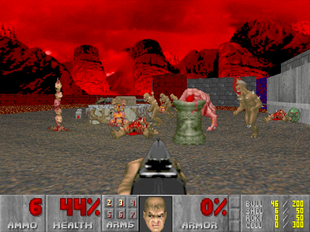 doom 1 flash game